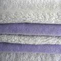 DTY 150D/96F Bonded Sherpa Fleece Fabrics 1