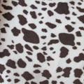 Animal Skin Both Sides Brushed Polar Fleece Fabric 1