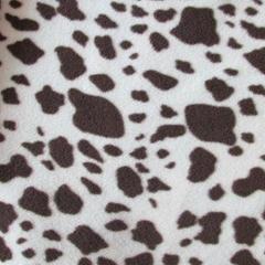 Animal Skin Both Sides Brushed Polar Fleece Fabric