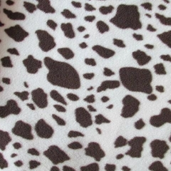 Animal Skin Both Sides Brushed Polar Fleece Fabric
