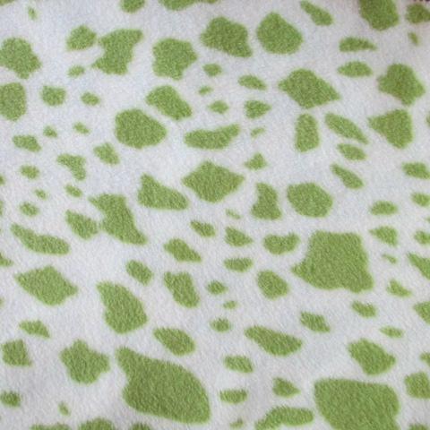 Animal Skin Both Sides Brushed Polar Fleece Fabric 2