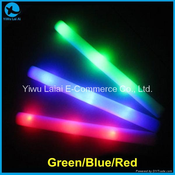 Single colour model ptomotional led glow stick 1