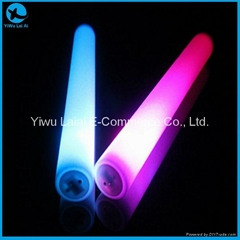 6 modes 3 colours Led Foam Stick For