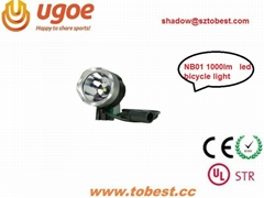 TOBEST LED bike light support CE ROHS and UL-STR
