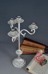 Si  er Candle Holder-Chrysanthemum Candlestick