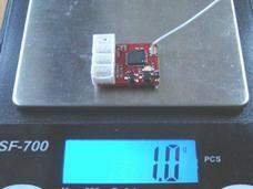 1.0g 4通轻型接收机