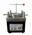 Four corners pressurized fiber optic polishing machine 1