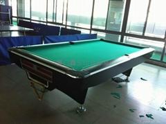 莆田美式黑八台球桌