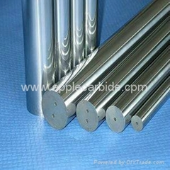 Various sizes of polished tungsten carbide rods