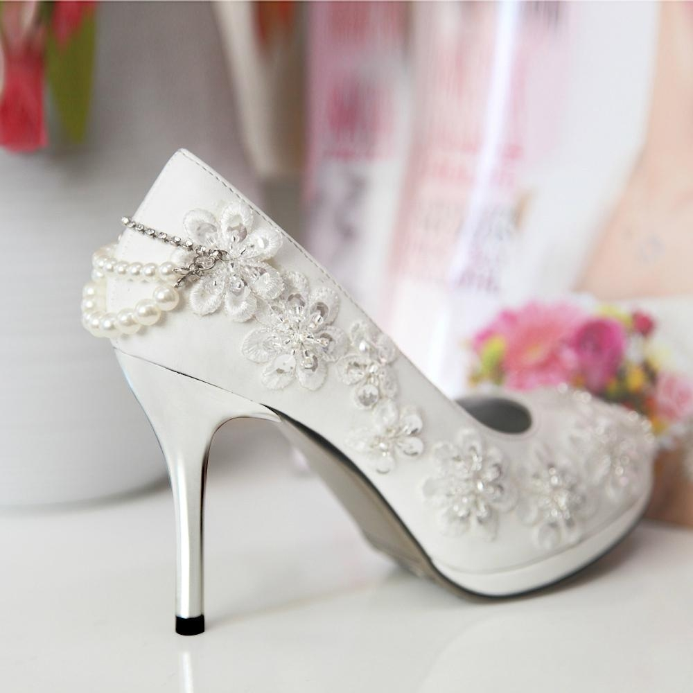 Bridal Ivory Shoes Bridal Shoes Low Heel 2014 Uk Wedges Flats Designer Photos Pics Images Wallpapers