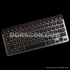 Illuminated Bluetooth keyboard for Win 8, Android and IOS