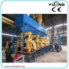 1 ton per hour biomass wood pellet production line
