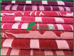 100% polyester velvet fabric for sofa