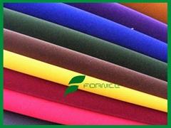 100% nylon flocking fabric used for