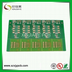 FR4 KB material PCB with 0.3mm to 1.0mm thickness
