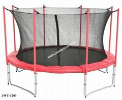 12FT Trampoline with intside Net Long Pole