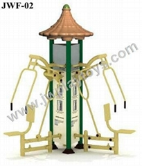 2013 NEW Outdoor Fitness Product Triple Push Chair