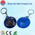 plastic talking keychain 2