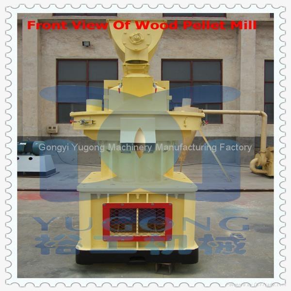 Yugong Efficiency Centrifugal Ring Die Wood Pellet Mill 2