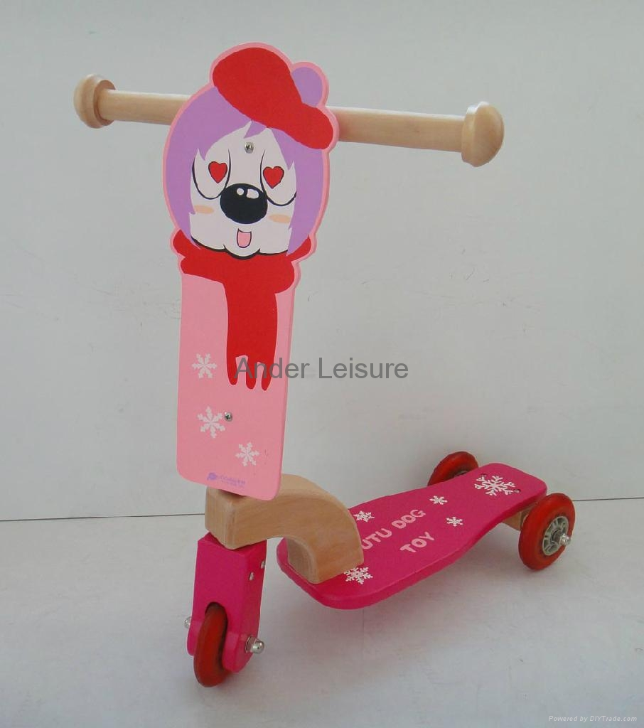 Kid Wooden Tiny Bike 1
