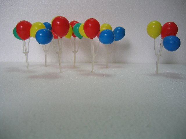 Cake Decoration : Colorful Balloon Set (Hong Kong Manufacturer