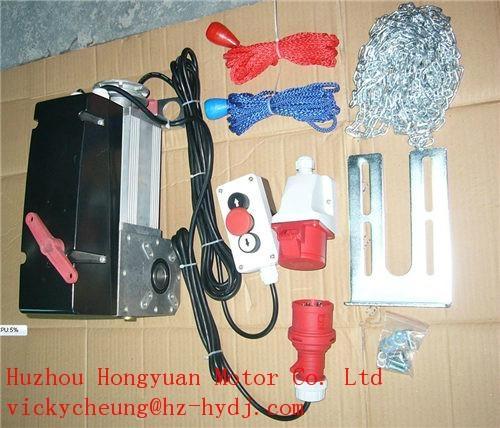 industrial door operator for over sectional door  1