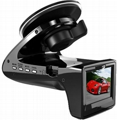 W818 HD 720P Car DVR Black Box Camera with Radar Watch Dog Build in