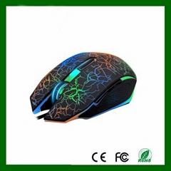 6D发光游戏鼠标