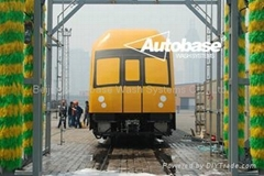 Automatic train wash system AUTOBASE T10