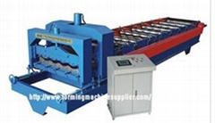 Steel Roofing Tile Roll Forming Machine