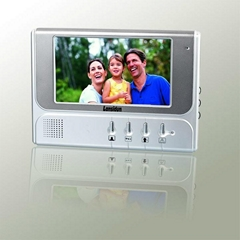 "7"" Monitor LCD Screen Home Video Door Phone Intercom Outdoor Camera with Waterpr"