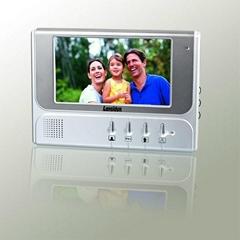 """7"""" Monitor LCD Screen Home Video Door Phone Intercom Outdoor Camera with Waterpr"""