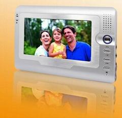 7inch Villa Video door phone Handfree Indoor Unit Aluminum Alloy Outdoor Ca