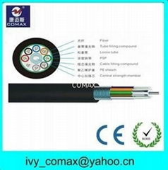 GYTS Steel Tape layer Loose Tube Armored Outdoor fiber optic Cable