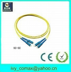 sc sc fiber optic patch cord cables