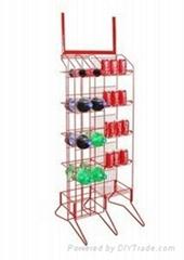 Metal Juice Display Rack