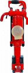 Kerex brand HY28 pneumatic rock drill with 5 bar pressure