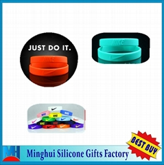 nike silicone bracelet silicone wristband rubber bands