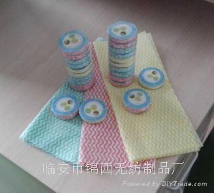 清洁纯白纯棉美容巾 1