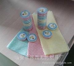 清潔純白純棉美容巾