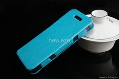 For iphone 5 Slim leather case