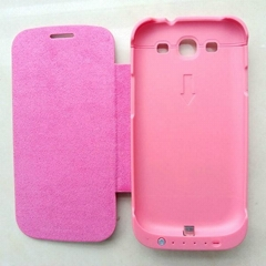 3200mAh Backup Battery Cover Door Stand Power Case for i9300 Samsung Galaxy S3