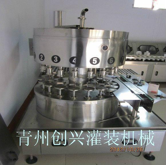 不锈钢材质高档白酒灌装机 1