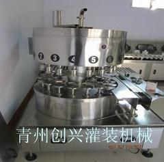 不鏽鋼材質高檔白酒灌裝機