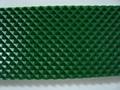 绿色钻石纹pvc输送带 1
