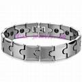 Tungsten steel magnetic bracelet 1