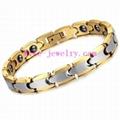 Tungsten steel magnetic bracelet 2