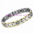 Tungsten steel magnetic bracelet 3