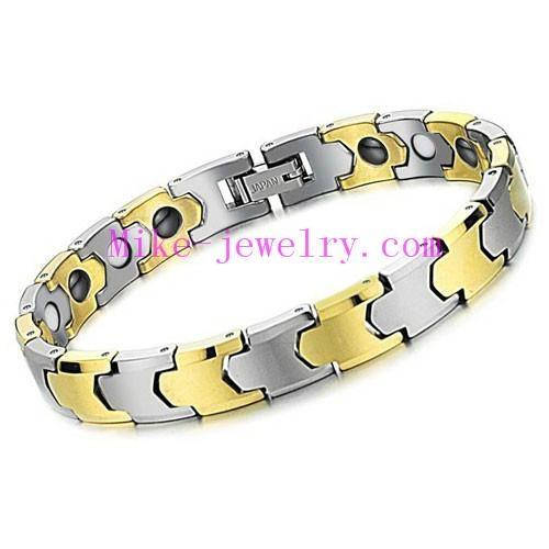 Tungsten steel magnetic bracelet 4