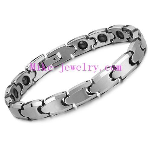 Tungsten steel magnetic bracelet 5